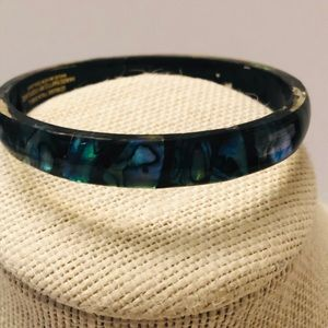 Genuine Paua shell bracelet